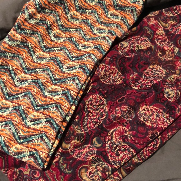 LuLaRoe Pants - Lularoe leggings (2 pair)